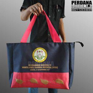 sablon tas bahan ripstop by perdana goodie bag