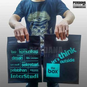 tas spunbond model press sablon by perdana goodie bag