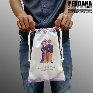 tas kain blacu printing model pouch perdana goodie bag