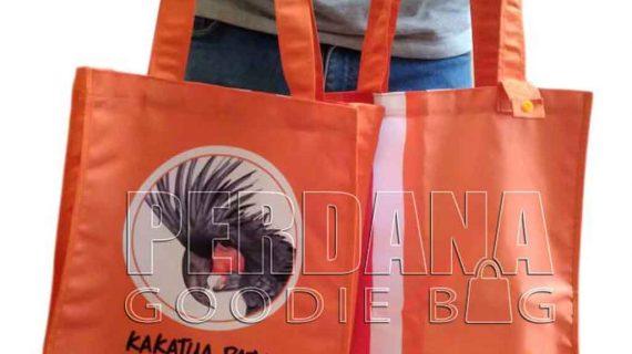 Tas Printing Taslan Kakaktua Raja Papua Hasil Produksi Perdana
