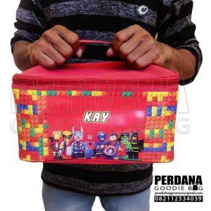 tas tempat makan untuk anak desain printing kalep by Perdana Q3737