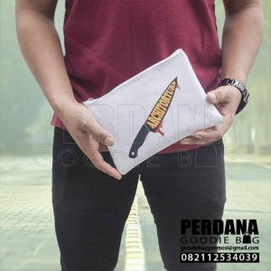 Tas Untuk Dompet Dan Hp Bahan D300 di Petukangan Q3780