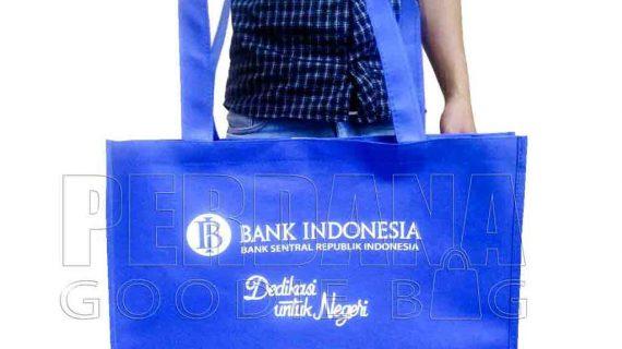 Contoh Tas Untuk Souvenir Spunbond Biru Benhur Jakarta Timur