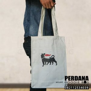 Tote Bag Kanvas Sablon Energy By Perdana Q3875