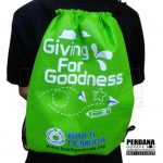 Goodie Bag Kain Serut Hijau Rempoa