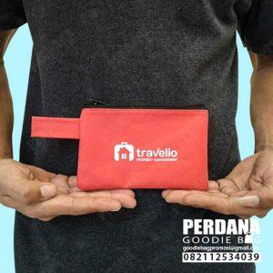 dompet pouch kecil travelio bahan D300 Q3874