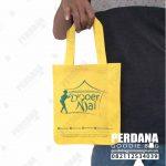 Tas Promosi Spunbond Kuning Di Cipadu