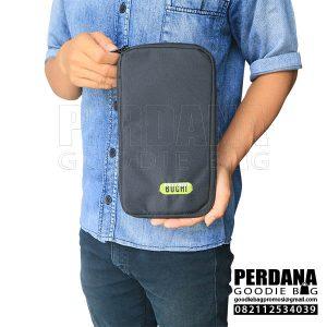 Dompet pouch dinier d300 hitam buchi BSD Q3805 1