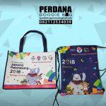 Tas Goodie Bag Asian Games Bentuk Partisipasi Perdana