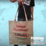 Goodie Bag Kain Kanvas Pengganti Plastik Di Bekasi