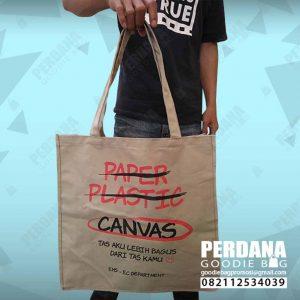 goodie bag kain kanvas sablon EHEC Bekasi by Perdana id4156