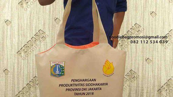 Tas Souvenir Untuk Pemerintahan DKI Jakarta Di Kalimalang