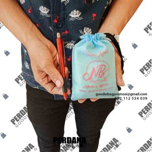 tas souvenir untuk pernikahan model serut by Perdana Goodie Bag