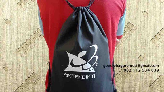 Drawstring Bag Anti Air Ristekdikti Kembangan Jakarta Barat