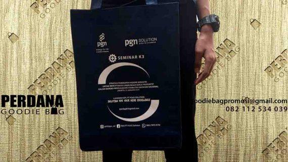 Tas Spunbond Seminar Kantor Pusat PGN Jakarta Barat