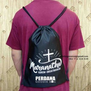 drawstring bag custom bahan anti air marantha kalimantan utara id5058