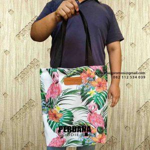 model tas kanvas wanita jinjing Perdana Goodie Bag