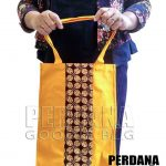tas bahan kanvas kombinasi kain batik