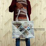 Contoh Tote Bag Kanvas Custom Printing Klien Thamrin Boulevard Jakarta Pusat
