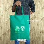 Perdana Goodie Bag Jual Tas Spunbond Press Hijau Tua Ke Palembang Sumatera Selatan
