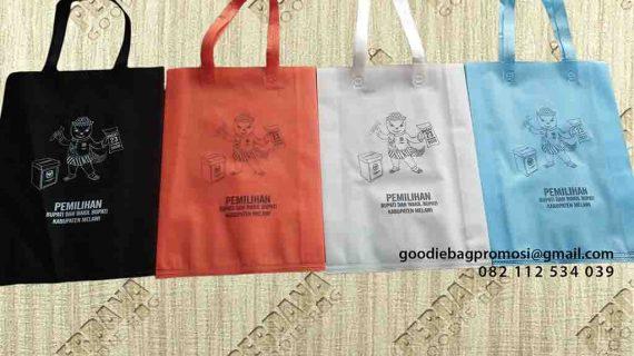 Pesan Goodie Bag Kain Spunbond Express Melawi Kalimantan Barat by Perdana