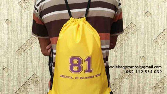 Review Tas Serut Bahan Taslan Klien Pondok Gede Kota Bekasi