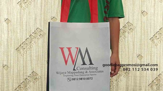 Tas Goodie Bag Custom 3 Warna Klien TB Simatupang Jakarta