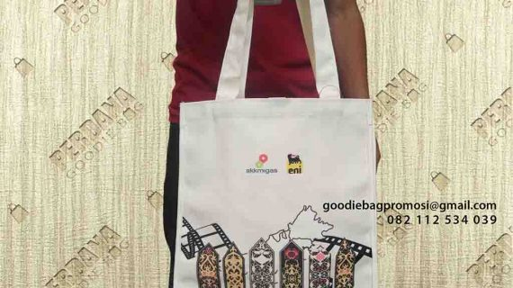 Contoh Tas Kanvas Desain Printing Di Kebayoran Baru Jakarta Selatan