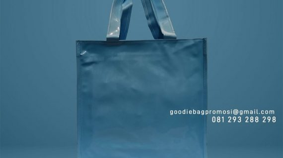 Bahan Goodie Bag Sponlack Polos Taman Arcadia Mediterania Tapos Depok