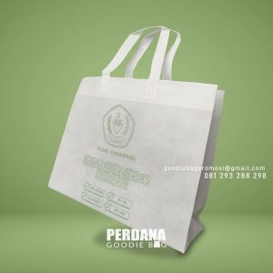 Jual Goodie Bag Spunbond Press Sablon Taman Mulia Sakti Indah Kali Abang Bekasi Utara ID8611P