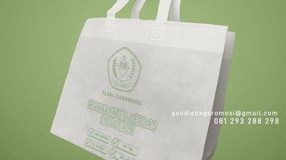 Jual Goodie Bag Spunbond Press Sablon Taman Mulia Sakti Indah Kali Abang Bekasi Utara