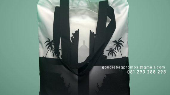 Jual Tas Kanvas Desain Printing Intiland Tower Tanah Abang Jakarta