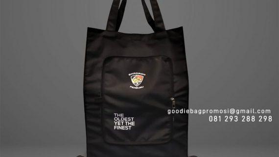 Tas Goodie Bag Lipat Dompet Desain Sablon Cenderawasih Maospati Magetan