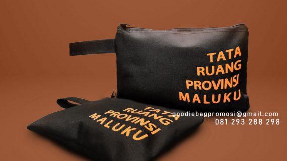 Tas Souvenir Murah Custom Pouch Dompet D I Panjaitan Sirimau Kota Ambon Maluku