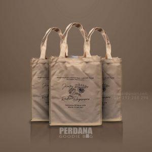 Tote Bag Kanvas Custom Sablon Widya Chandra Senayan Kebayoran Baru Id8771P