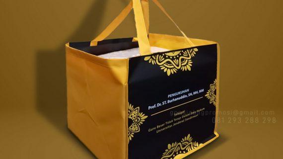 Pabrik Goodie Bag Desain Sablon Apartemen Kalibata City Tower Flamboyan Pancoran